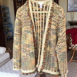 Chicos size 1 gorgeous jacket
